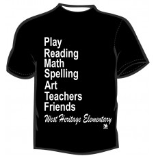 A West Heritage Elementary T-Shirt 2
