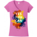 """Yes You Can"" -  Motivational Tee Multiple Colors"