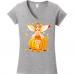 A Fairy Tale Series - Autumn Fairy Young Girl on a Pumpkin