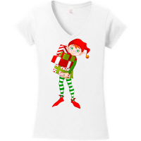 A Christmas Elf Series - Boy Elf Carrying Gifts